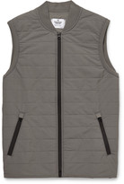 Reigning Champ - Quilted Stretch-shell Gilet