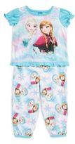 AME Sleepwear Baby's Two-Piece Frozen Pajama Set