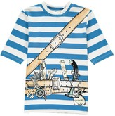 Stella McCartney Splash Adventurer Striped UV Protective T-Shirt
