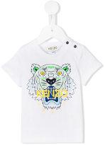 Kenzo logo print T-shirt - kids - Cotton - 3 mth