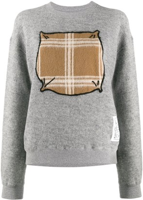 Julien David Contrast Drawing Jumper