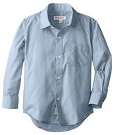 Appaman Kids The Standard Shirt (Toddler/Little Kids/Big Kids) (Blue) Boy's Long Sleeve Button Up