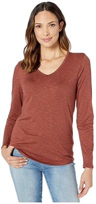 Toad&Co Marley Long Sleeve Tee (Paprika) Women's T Shirt
