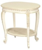 The Well Appointed House Sandrine Table in Versailles Creme