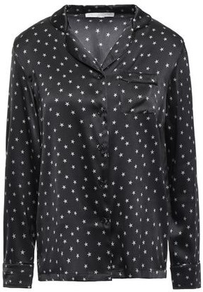 Stella McCartney Betty Twinkling Printed Silk-blend Satin Pajama Top