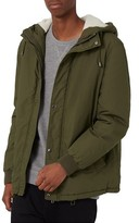 Topman Men's Hooded Crop Parka
