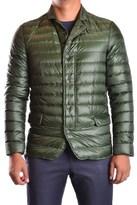 Duvetica Men's Green Polyamide Down Jacket.