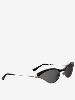 Moschino Sunglasses In Metal And Acetate