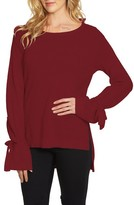 1 STATE Women's 1.state Tied Bell Sleeve Sweater