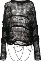 Isabel Benenato chunky knit jumper - women - Cotton/Polyamide/Polyester/Virgin Wool - 44