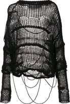 Isabel Benenato chunky knit jumper - women - Virgin Wool/Mohair/Polyamide/Cotton - 44