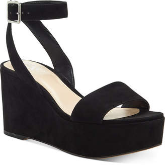 Vince Camuto Gijenta Wedge Sandals Women Shoes