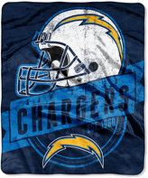 Northwest Company San Diego Chargers Micro Raschel 12th Man Throw Blanket