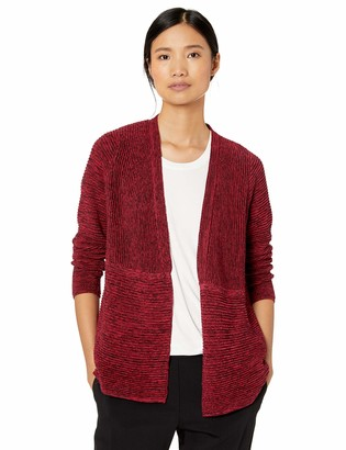 Foxcroft Women's Arizona Textured Rib Cardigan