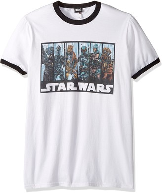 Star Wars Men's Official 'bh Guild' Premium Ringer Graphic Tee