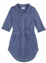 Splendid Little Girl Indigo Knit Dress