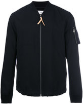 Closed zip up jacket - men - Virgin Wool - L