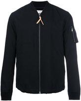 Closed zip up jacket