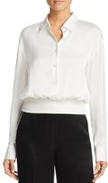 DKNY Silk Pullover Blouse