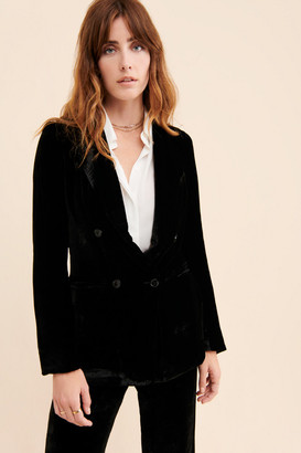 SLEEPING WITH JACQUES Dinner Party Velvet Blazer