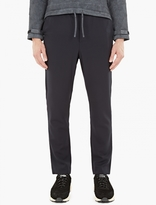 Ami Navy Carrot-Fit Trousers