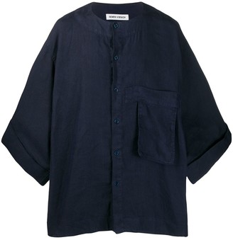Henrik Vibskov Kaii loose-fit denim shirt
