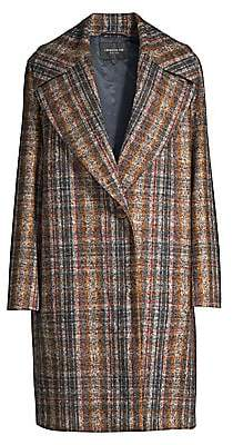 Lafayette 148 New York Women's Lebell Plaid Coat