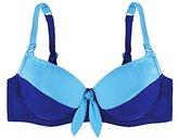 Marie Meili Haut de maillot de bain Balconnet Avalon Wire Bra Bleu