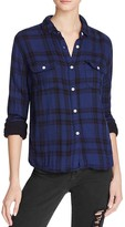 Joe's Jeans Amelia Plaid Flannel Shirt