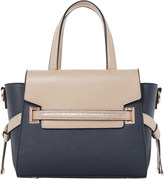 Dune Dinidelpha faux-leather winged tote