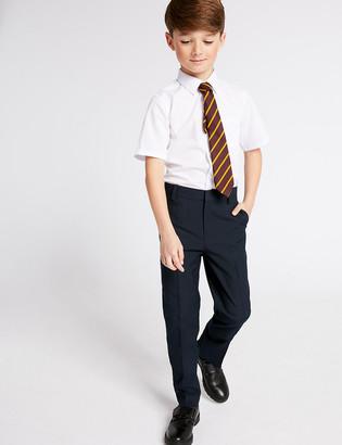 Marks and Spencer Boys' Slim Leg Longer Length Trousers