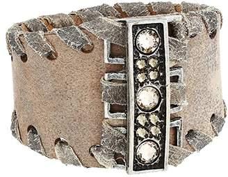 Leather Rock Dana Bracelet