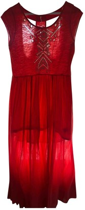 Free People Red Cotton Dresses