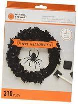 Martha Stewart Spooky Night Tissue Wreath Kit, 48-20413