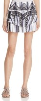 Red Carter Vega Printed Mini Skirt