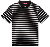 McQ by Alexander McQueen Slim-Fit Striped Cotton-Piqué Polo Shirt