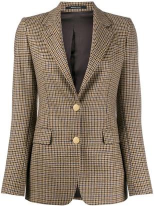 Tagliatore Houndstooth Blazer Jacket