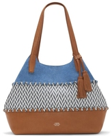 Vince Camuto Edena – Material-blocked Tote