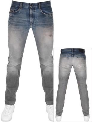 Diesel D Strukt Tapered Fit Jeans Blue