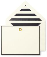 Kate Spade Monogram D Correspondence Cards - Set of 10