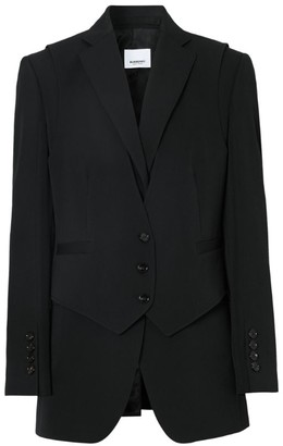 Burberry Tailored Jacket With Waistcoat