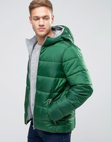 United Colors Of Benetton Padded Jacket With Hood