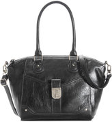 Style&Co. Style & Co Twistlock Satchel Crossbody, Only at Macy's