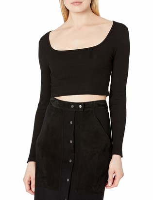 The Fifth Label Women's Offsite Longsleeve Scoopneck Crop Top