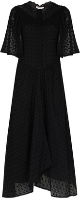Etoile Isabel Marant Turin embroidered cotton maxi dress