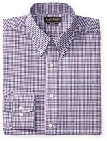 Lauren Ralph Lauren Slim-Fit Non-Iron White Check Dress Shirt