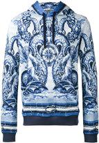 Dolce & Gabbana printed hoodie - men - Cotton - 52