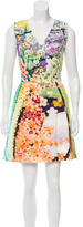 Mary Katrantzou Floral Print Mini Dress