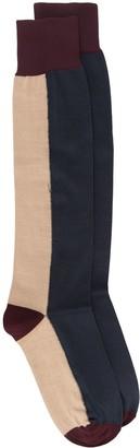 Marni Two-Tone Long Socks