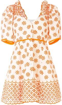 Alice McCall I Want You floral embroidered mini dress